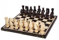 Large Cezar houten super schaakspel
