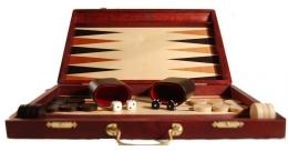 Backgammon Medium Brown