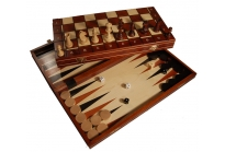 Schaak- en backgammon Medium
