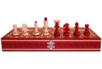 Pearly Chess Red