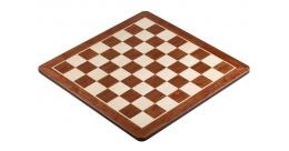 Schaakbord Padouk 4 ronde hoeken.