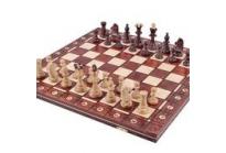 Junior Luxe houten schaakspel