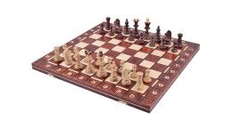 Consul luxe houten schaakspel